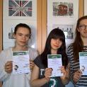 Uczennice Liceum Plastycznego wśród zwycięzców konkursu English Ace 2017