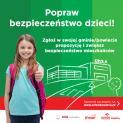 """Program """"Bezpieczna Droga do Szkoły"""" Korporacyjnej Fundacji """"ORLEN-DAR SERCA""""."""